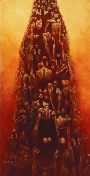 Stairway to Heaven - 18x36 limited edition print - Kadir Nelson