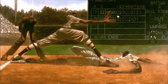 Cool Papa Bell - 36x18 limited edition print - Kadir Nelson