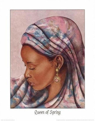 Queen of Spring - 20x16 - print - Marcella Hayes Muhammad