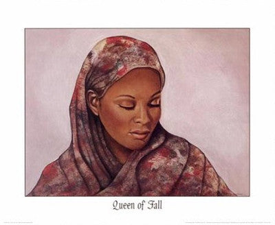 Queen of Fall - 16x20 - print - Marcella Hayes Muhammad