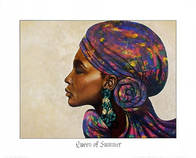 Queen of Summer - 16x20 - print - Marcella Hayes Muhammad