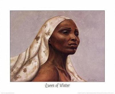 Queen of Winter - 16x20 - print - Marcella Hayes Muhammad