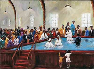 Baptized In The House 16x20 Print Ted Ellis It S A