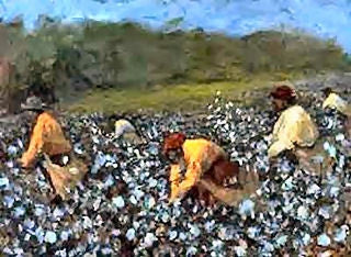 Cotton Pickers - 16x20 print - Ted Ellis
