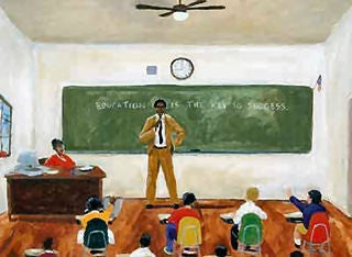 Education is the Key To Success - 19x24 print - Ted Ellis