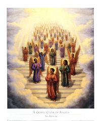 A Gospel Choir of Angels - 25x21 - print - Tim Ashkar