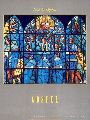 Gospel - 31x23 - print - Michele Wood