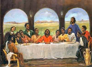 The Last Supper - 18x24 print - Ted Ellis