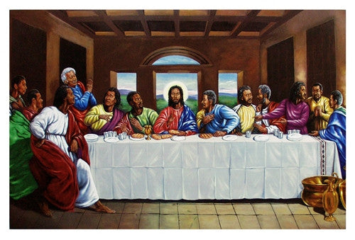 The Last Supper 24x36 Print Johnny Myers It S A