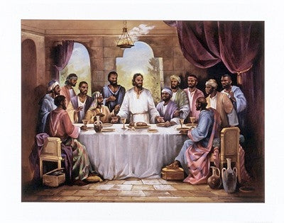 The Last Supper - 22x28 - print - Quintana