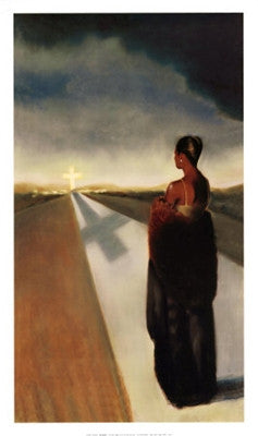 The Road - 30x17 - print - Laurie Cooper