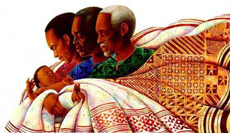 Circle of Pride - 24x36 limited edition print - Keith Mallett