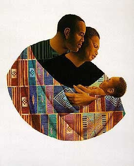 Family Circle - 21x21 artist proof - Keith Mallett