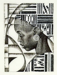 Asikyri - 11x16 limited edition print - Keith Mallett