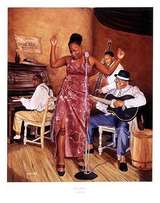 Creators of Jazz - 28x22 - print - Jason Delancey