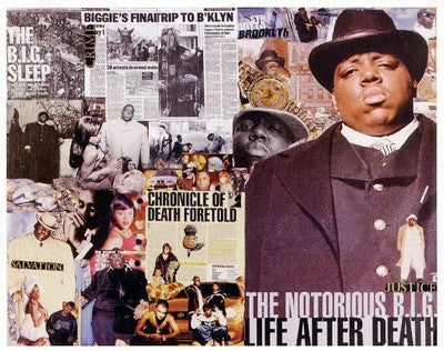 The B.I.G. Tribute - 24x29 - print - Stanley Ingram