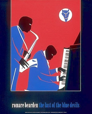 The Last of the Blue Devils - 30x24 - print - Romare Bearden