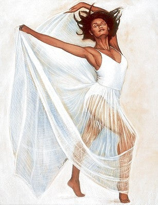 Freedom Dance - 28x23 - print - Laurie Cooper
