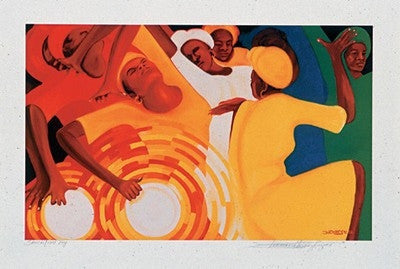 Sanctified Joy - print - Bernard Hoyes