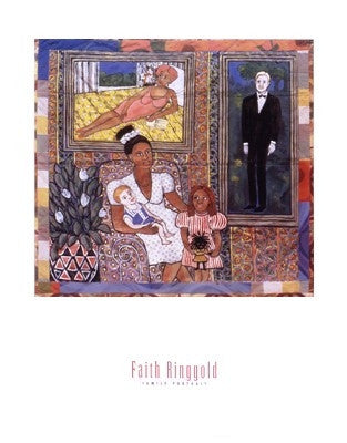 A Family Portrait - 28x22 - print - Faith Ringgold
