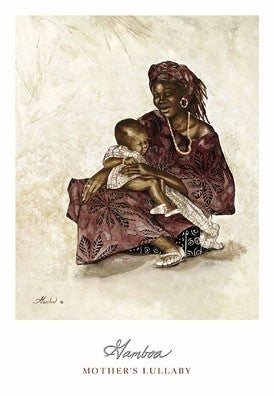 Mothers Lullaby - 20x26 - print - Consuelo Gamboa
