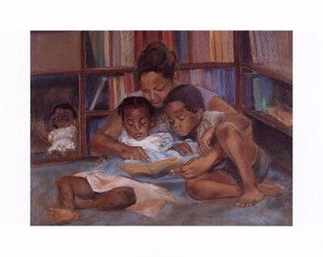 The Reading - 16x20 - print - Sharon Wilson