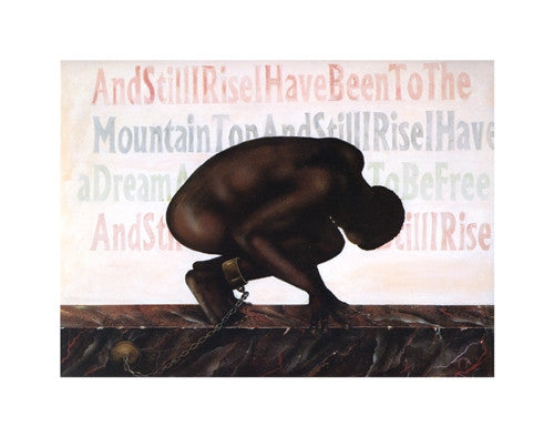 And Still I Rise 11x14 Print Anthony Armstrong It