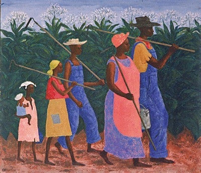 Field Workers - 25x25 - print - Ellis Wilson