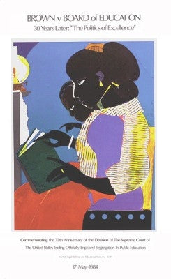 The Lamp - 35x21 - print - Romare Bearden