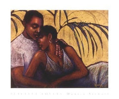 Peaceful Lovers - 20x24 print - Monica Stewart