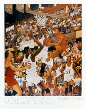 Collegiate Level - 31x24 print - Ernest Watson