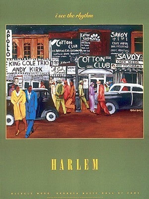 Harlem - 31x23 - print - Michele Wood