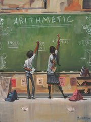 Arithmetic - 16x20 giclee on canvas - Frank Morrison