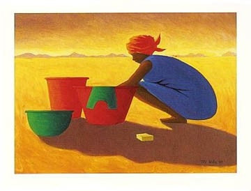 Washer Woman - print - Tilly Willis