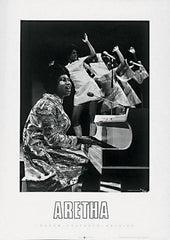 Aretha Franklin - 27x19 photo poster