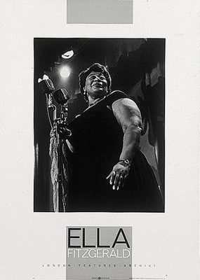 Ella Fitzgerald - 27x19 - photo poster - Anon