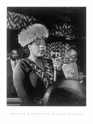 Ella Fitzgerald - 24x18 photo poster - William Gottlieb
