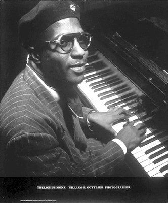 Thelonious Monk - 24x20 photo poster - William Gottlieb