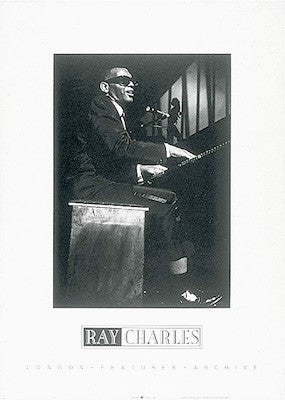 Ray Charles - 27x19 - photo poster - Anon