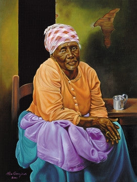 My Work Is Done - 32x24 - print - Alix Beaujour