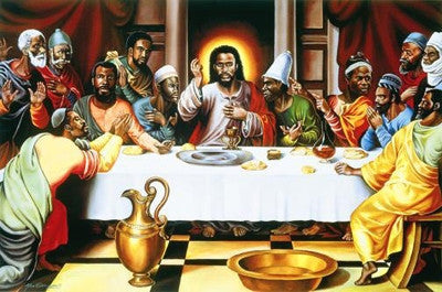 The Last Supper - 24x36 - print - Alix Beaujour
