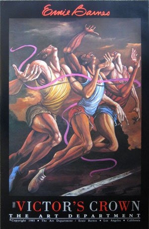 The Victors Crown - 39x25 signed poster - Ernie Barnes