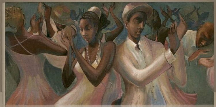 Soul Clap - 48x24 giclee on canvas - John Holyfield