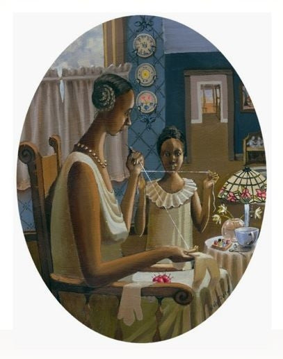 Doll Maker - 11x14 limited edition print - John Holyfield