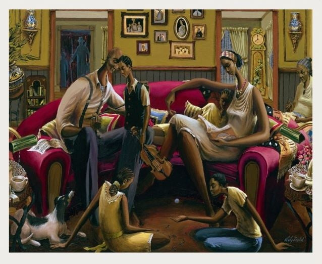 Souls Haven - 30x24 limited edition print - John Holyfield