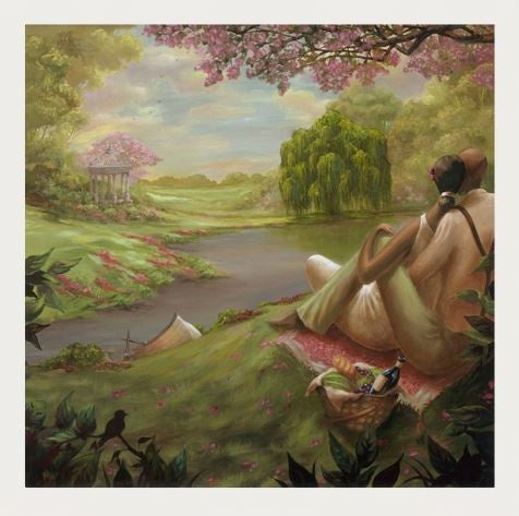 Romantic Rendezvous - 24x24 limited edition print - John Holyfield