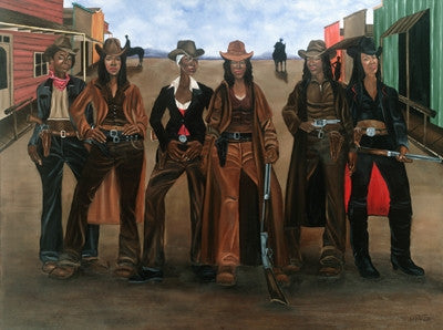 Sistas N Arms - 24x36 - print - Dwight Ward