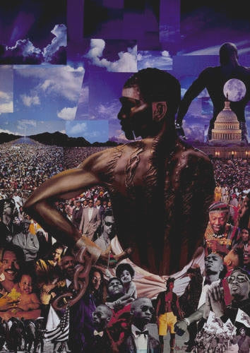 Million Man March - 24x34 - open edition print - Michael Anthony Brown