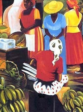 Banana Vendor - limited edition print - Bernard Hoyes