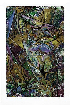 Nude with Drapery II - 43x29 limited edition print - Anthony Armstrong
